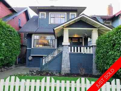 Kitsilano House for sale:  5 bedroom 2,417 sq.ft. (Listed 2019-03-21)